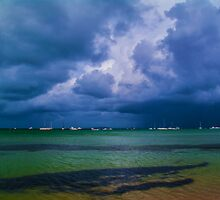 Storm Over the Bay. by Bette Devine