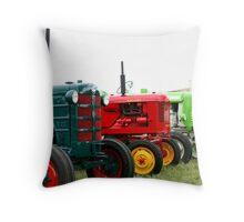 Tractor parade Throw Pillow