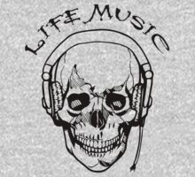 Life Music T-Shirts & Hoodies by designshoop