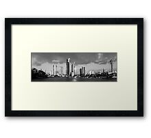 Silver City on the Gold Coast Framed Print