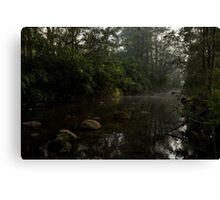 Kangaroo Valley - Peacefull Creek view 01 Canvas Print