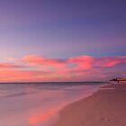 Henley beach sun set by woqisiyasi