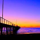 Henley beach jetty by woqisiyasi