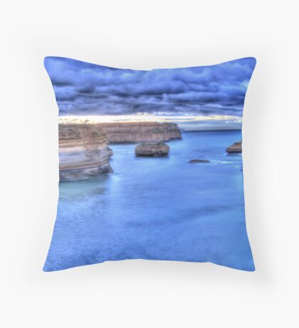 Loch Ard Gorge panorama Throw Pillow