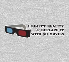 3D is my Reality One Piece - Short Sleeve