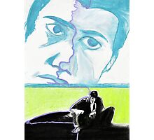 Dale Cooper feat. Leland Palmer in Pastel - Twin Peaks Photographic Print