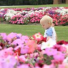 Jack in the Flowers at Werribee Mansion by Bree Lucas