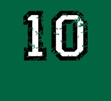 The Number Ten - No. 10 (two-color) white Unisex T-Shirt