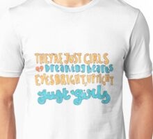 Girls Lyric Drawing Unisex T-Shirt