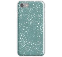 Seamless spotted background, wallpaper with grunge texture  iPhone Case/Skin