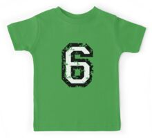 Number Six - No. 6 (two-color) white Kids Tee