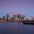 Docklands Dusk by Ursula Rodgers