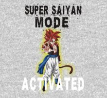 Super Saiyan Mode Gogeta Super Saiyan 4 by BadrHoussni