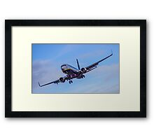 Ryanair coming in to land Framed Print