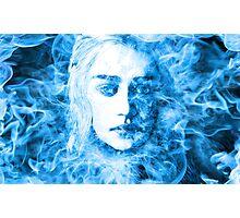 Daenerys Targaryen Bride of Fire Mother of Dragons Photographic Print