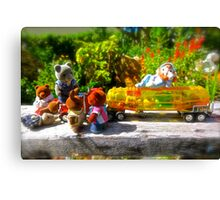A bunch of Bears  Canvas Print