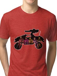 Red vs Blue - Red Team Tri-blend T-Shirt