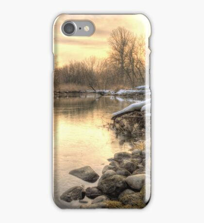 Along the Thames River  iPhone Case/Skin