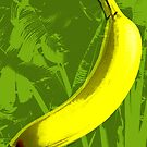 Banana Pop Art by minjean