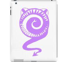 Round Scream in Purple iPad Case/Skin