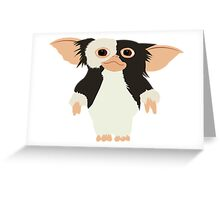 Gremlins Gizmo Swag Greeting Card
