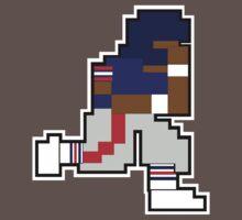 Nintendo Tecmo Bowl New York Giants Lawrence Taylor by jackandcharlie
