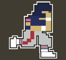 Nintendo Tecmo Bowl New York Giants Mark Bavarro by jackandcharlie