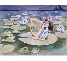 A Concert for the Frog Prince Photographic Print