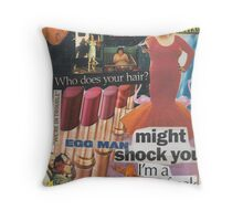 Filth is My Politics, Filth is My Life! Throw Pillow