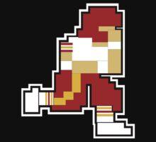 Nintendo Tecmo Bowl Washington Redskins Kids Tee