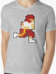 Nintendo Tecmo Bowl Washington Redskins Mens V-Neck T-Shirt