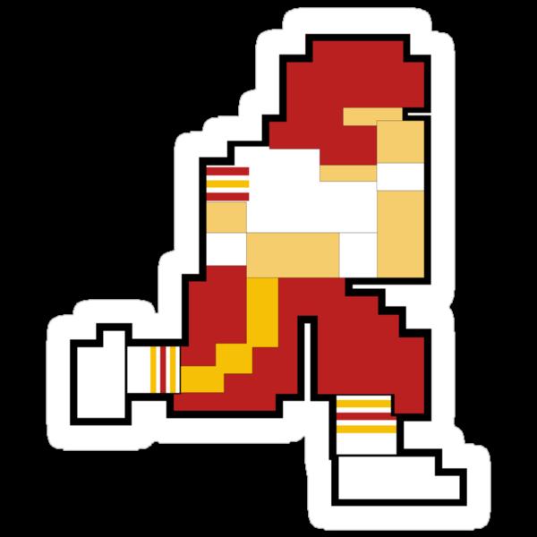 Nintendo Tecmo Bowl Washington Redskins by jackandcharlie