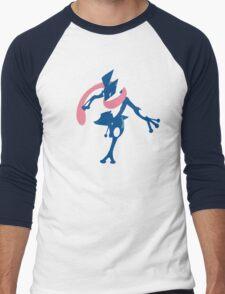 Greninja Minimalist Men's Baseball ¾ T-Shirt