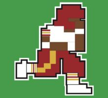 Nintendo Tecmo Bowl Washington Redskins RGIII by jackandcharlie