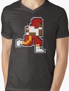 Nintendo Tecmo Bowl Washington Redskins RGIII Mens V-Neck T-Shirt