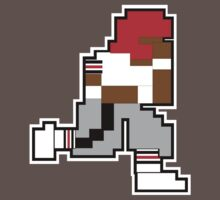 Nintendo Tecmo Bowl Atlanta Falcons Deion Sanders by jackandcharlie