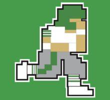 Nintendo Tecmo Bowl Philadelphia Eagles A by jackandcharlie