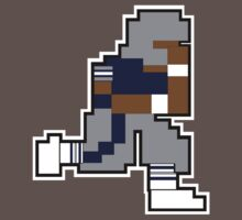 Nintendo Tecmo Bowl Dallas Cowboys Emmitt Smith by jackandcharlie