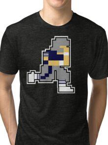 Nintendo Tecmo Bowl Dallas Cowboys Troy Aikman Tri-blend T-Shirt