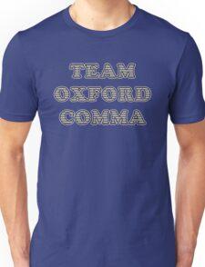 Team Oxford Comma Unisex T-Shirt