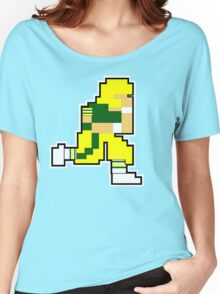 Nintendo Tecmo Bowl Green Bay Packers Aaron Rodgers Women's Relaxed Fit T-Shirt