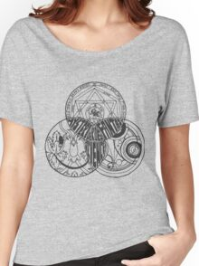 Superwholock Venn Diagram (Transparent) Women's Relaxed Fit T-Shirt