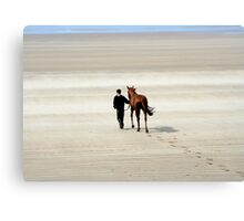 Doolough Races Canvas Print