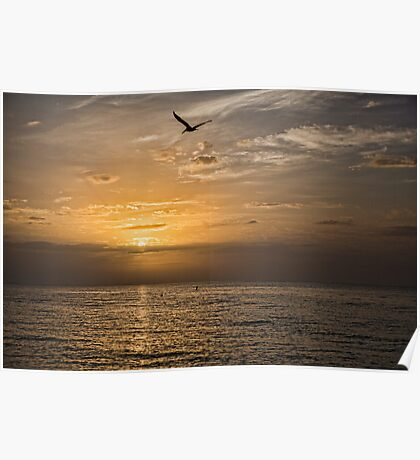 Gulf Sunrise Poster