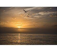 Gulf Sunrise Photographic Print