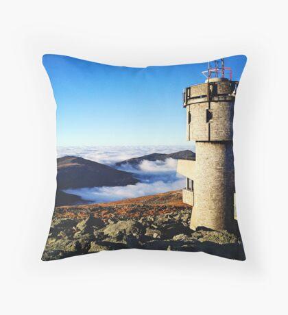 Atop Mt. Washington Throw Pillow