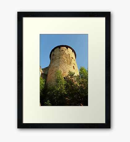 Tower Ivangorod fortress Framed Print