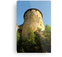 Tower Ivangorod fortress Metal Print