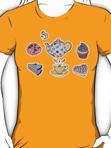 TEA FIRST. SEX LATER. T-Shirt