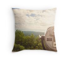 Through the View Finder Throw Pillow